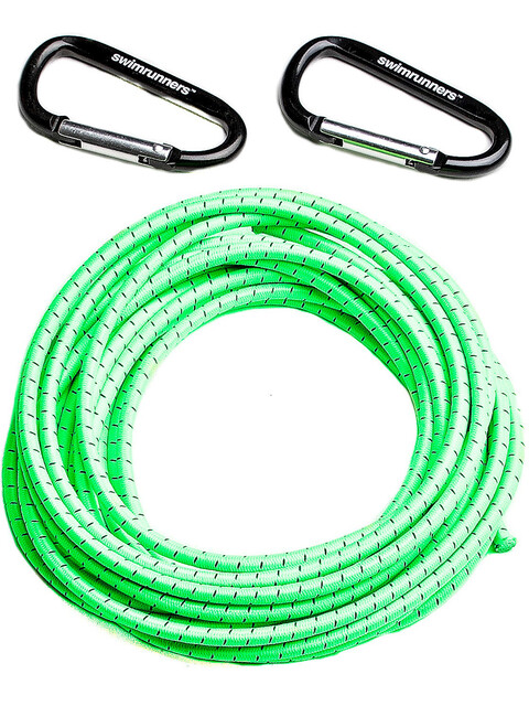 Swimrunners Support Pull Belt Cord DIY 5m Neon Green